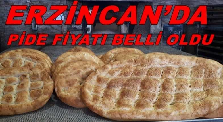 Erzincan'da Ramazan pidesi fiyatı belli oldu