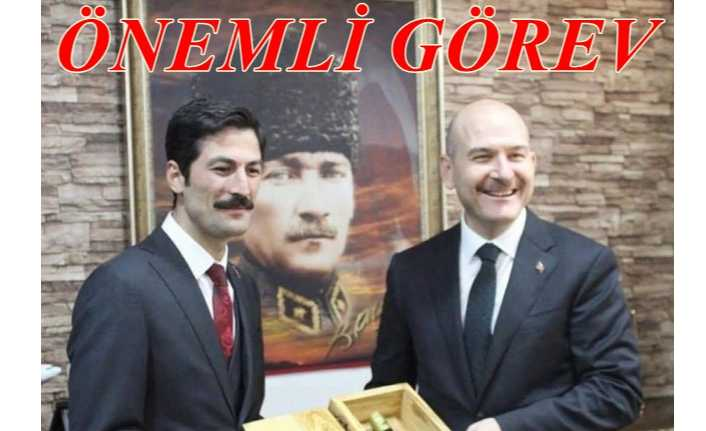 Erzincan'lı Kaymakam'a önemli görev