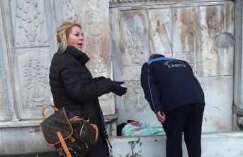 Soğukta kalan evsizler kurtarıldı: Yeşilçam'ın ünlü ismi de yardım etti