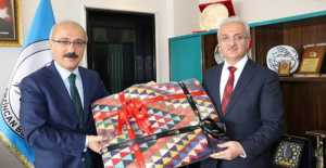 Elvan Başkan Başsoy'u Ziyaret Etti