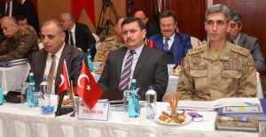 Vali Ali Arslantaş Seçim Güvenlik Toplantısına katıldı
