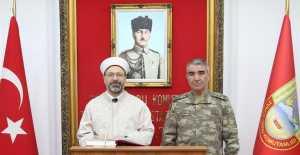 Diyanet İşleri Başkanından 3. Orduya ziyaret