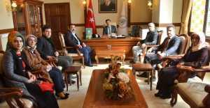 Yeşilay'dan Vali Ali Arslantaş'a ziyaret