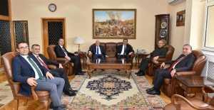 Öngay Paşa´ya Erzurum'dan Ziyaret