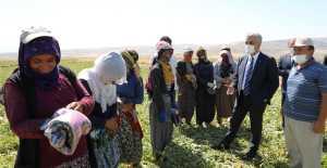 Vali'den  Çiftçilere Ziyaret