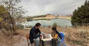 Erzincan'da Satranç tarih ile buluştu