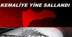 Kemaliye'de korkutan deprem!