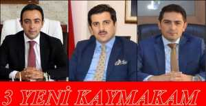 Erzincan#039;da 3 İlçenin Kaymakamı Değişti