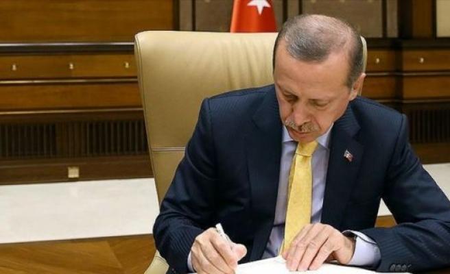 Cumhurbaşkanı Erdoğan'dan iki üniversiteye rektör ataması
