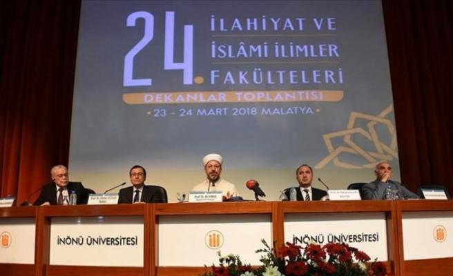 Diyanet İşleri Başkanı Erbaş: Çok kapsamlı bir sonuç bildirgesi ortaya çıktı