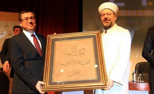 Diyanet İşleri Başkanı Erbaş: Din ve medya ilişkisi daha önemli hale gelmiştir