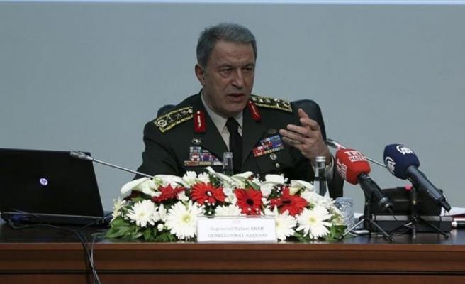 Genelkurmay Başkanı Orgeneral Akar: Afrin'de üç beş köy kaldı