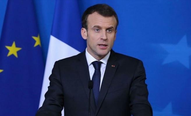 Macron'dan Salisbury olayına ilişkin açıklama