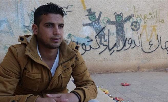 Suriye'de halk ayaklanmalarının fitilini ateşleyen genç AA'ya konuştu