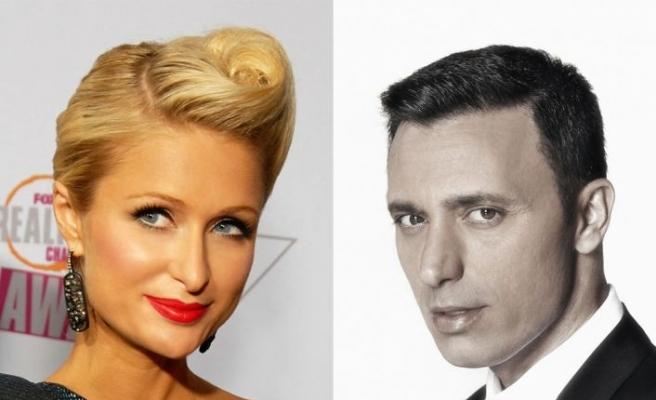 Paris Hilton ve Mustafa Sandal aynı podyumda