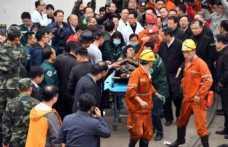 Madende göçük: 2 ölü, 18 kişi toprak altında