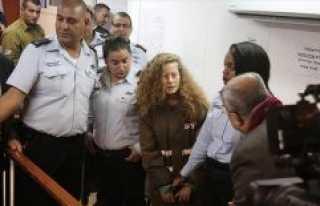 İsrail, Filistinli cesur kız Temimi'nin gözaltı...