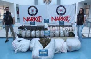 Adana'da 275 kilo eroin ele geçirildi