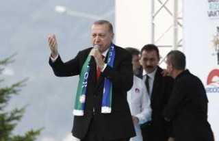 """Cumhurbaşkanı Erdoğan'dan İnce'ye """"Beyaz..."""