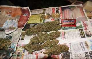 Uyuşturucu imalathanesine baskın