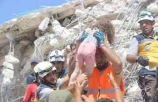 İdlib'te ölü sayısı 39'a yükseldi
