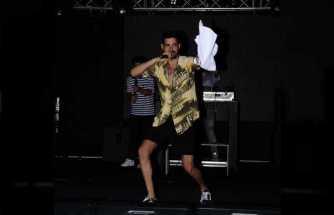 İdo Tatlıses'den kanguru dansı