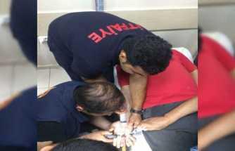 İtfaiyeden yüzük çıkarma operasyonu