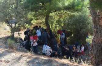 106 kaçak göçmen yakalandı