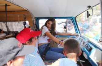 Amanda Cerny Kapadokya'da