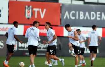 Beşiktaş'ta Sarpsborg maçı hazırlıklarını sürdürdü