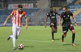 Boluspor Adana'da kazandı