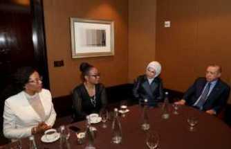 Cumhurbaşkanı Erdoğan Malcolm X'in kızlarıyla görüştü