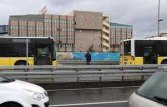 İstanbul'da metrobüs kazası: 6 yaralı