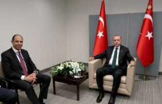 KKTC Dışişleri Bakanı Özersay'ı kabul etti