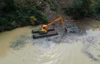 Sera Gölü temizleniyor