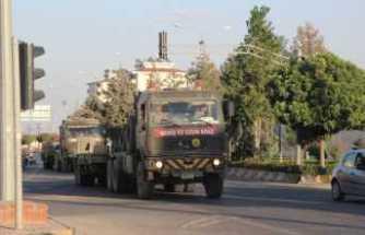 Suriye sınırında hareketlilik sürüyor