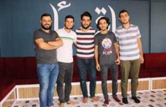 Suriyeli esnaflardan alkışlık hareket