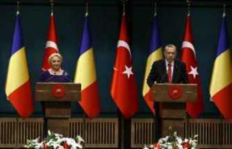 Erdoğan-Dancila ortak basın toplantısı