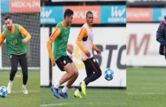 Galatasaray'da Avrupa mesaisi devam ediyor