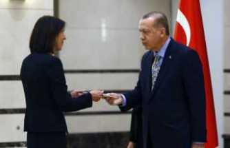 Hollanda Büyükelçisini kabul etti