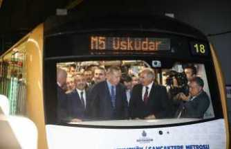 İlk günde 179 bin 612 yolcu taşıdı