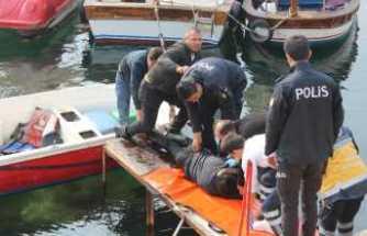 İstanbul'da denizde can pazarı