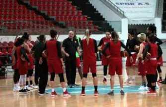A Milli Kadın Basketbol Takımı Belarus maçına kilitlendi