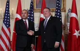 Bakan Çavuşoğlu, ABD'li mevkidaşı Pompeo ile görüştü