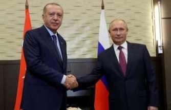 Erdoğan ve Putin İstanbul'da bir araya gelecek