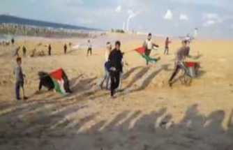 İsrail askeri 10 Filistinliyi yaraladı