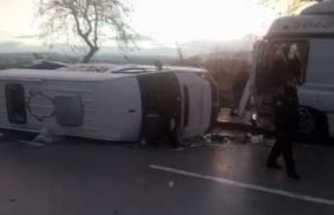 Çanakkale'de feci kaza: Ölü ve yaralılar var