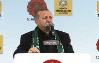 Erdoğan: Trump'la görüştük