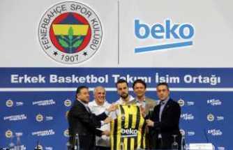 Fenerbahçe'nin potada yeni sponsoru Beko