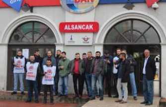 İZBAN işçileri 8 gündür grevde